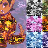 Octopus Camo - Windbreaker Jacket Design