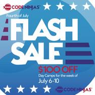 Code Ninjas - Flash Sale Social Media Ad