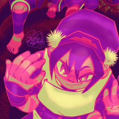 Fanart - Cactus Juice Avatar Zine