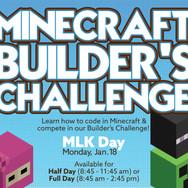 Code Ninjas Minecraft Builder's Challenge - Social Media Banner