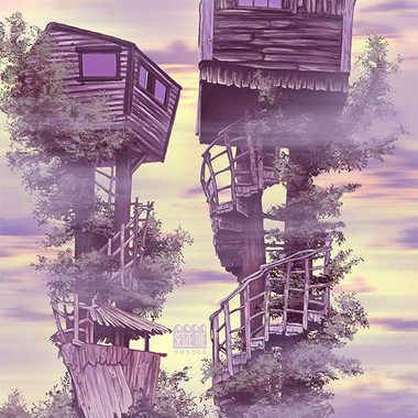 Twin Treehouses