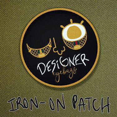 Designer Eyebags - Iron On Patch