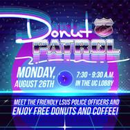 Donut Patrol - Screen Display