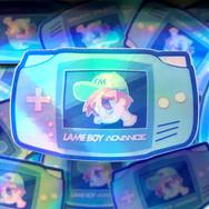 Lame Boy - Holographic Sticker Design