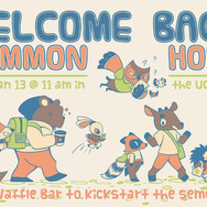 Welcome Back Common Hour - Flyer