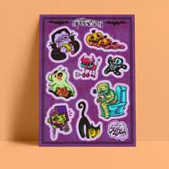 Silly Spookies Sticker Sheet