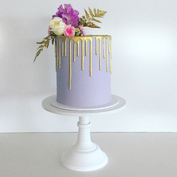 Lilac & Gold Offside