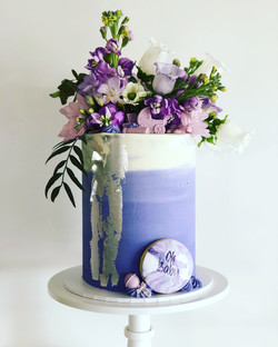 Fresh Lilac Blooms Baby Shower