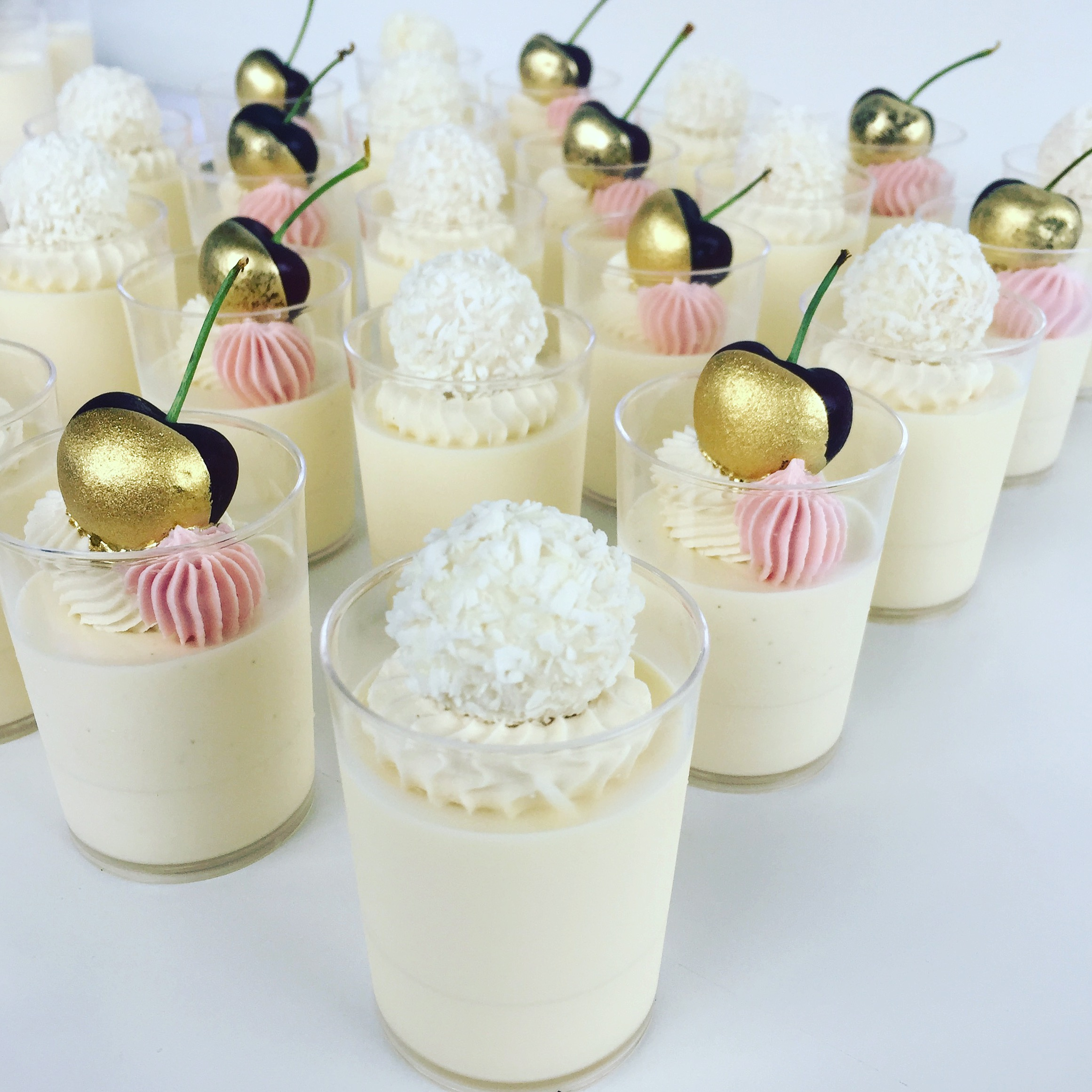 Rafaello Mousse & Mini Panna Cotta