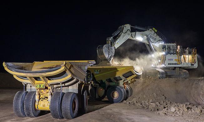 Duratray dump bodies in Carmichael mine, Queensland