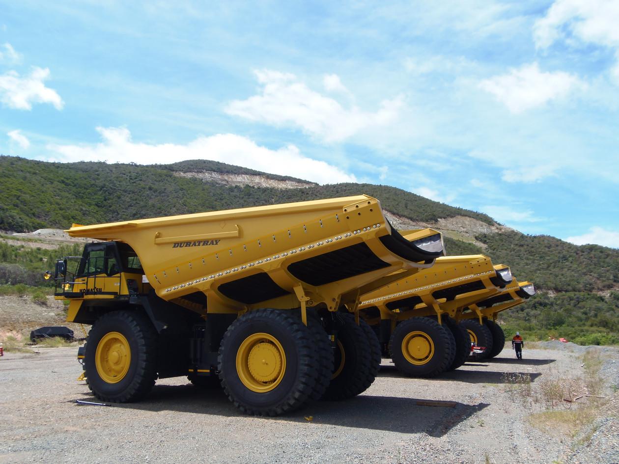 SDB KOM HD785-7, New Caledonia