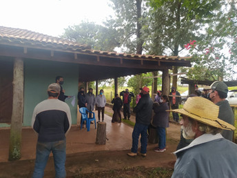 Agraer discute Assistência Técnica no Assentamento Querência, em Amambai