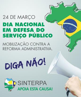 Dia Nacional em Defesa do Serviço Público