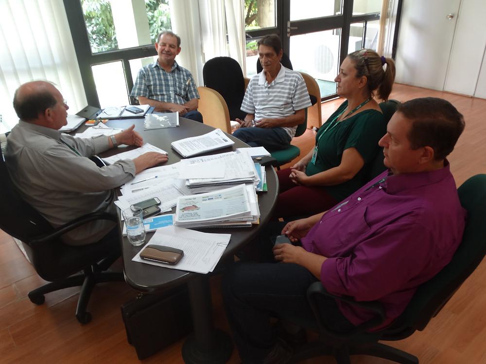 Reunião com o diretor-presidente da Agraer sobre as reivindicações da categoria