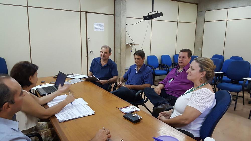 Reunião do dia 18 de março que discutiu o PCC