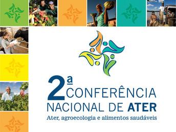 Conferência Estadual da Ater será realizada nos dias 17 e 18 de março