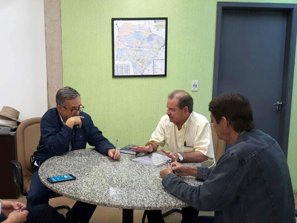 Reunião na Sepaf sobre modificações no PCC da Agraer