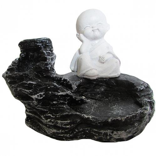 Incensário Cascata Buda Baby