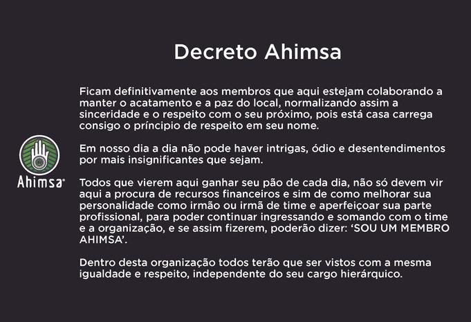 Decreto Ahimsa
