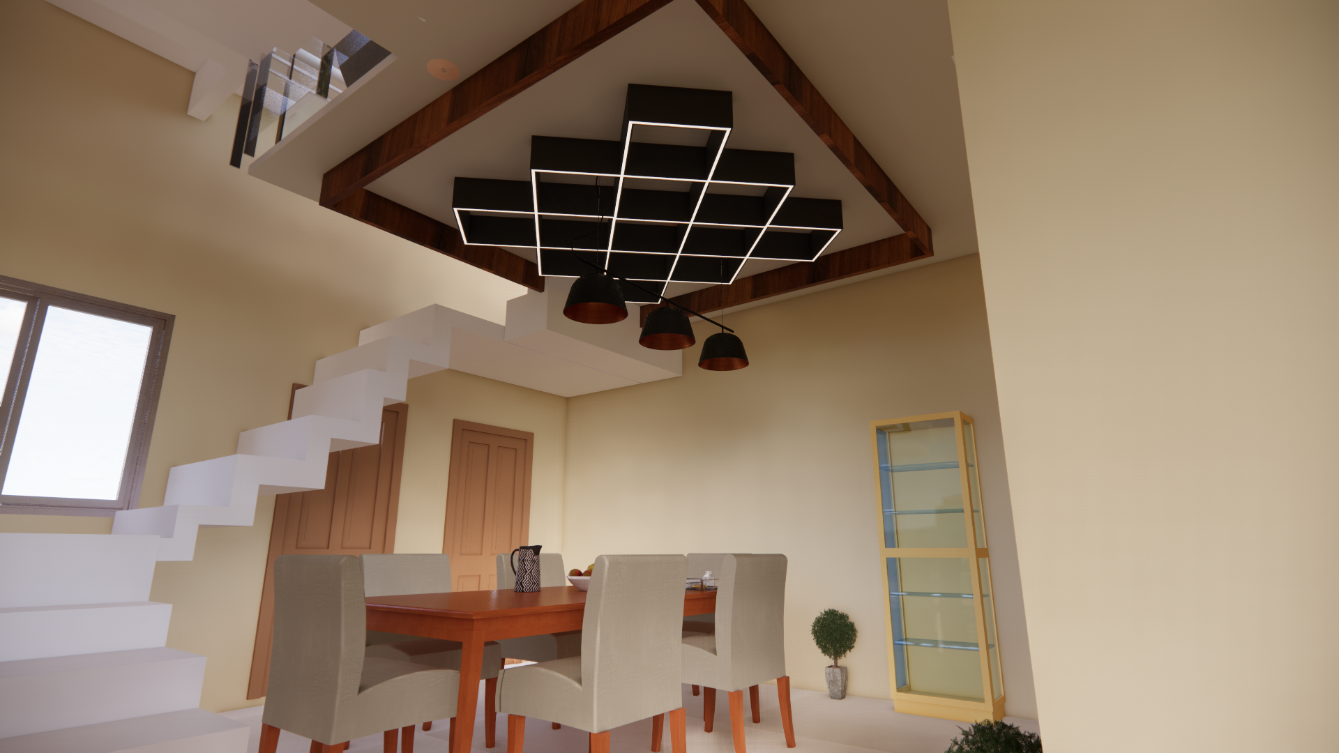 DINNING CEILING