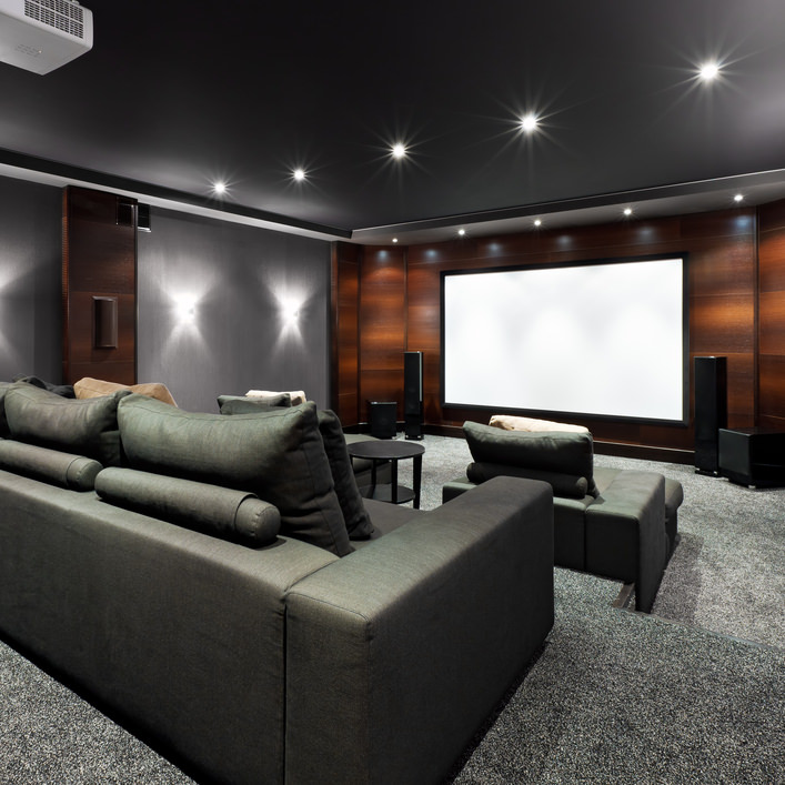 entertainment spaces