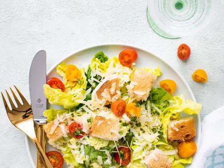 Receitas de saladas leves e saborosas