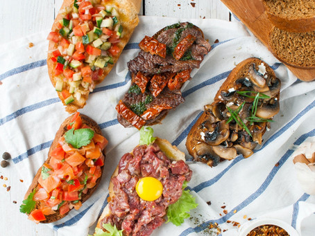Receitas de antepastos saudáveis para comer com nossos pães