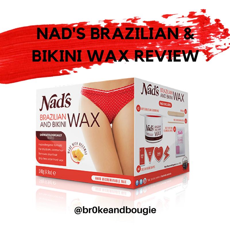 Bikini nads wax mine