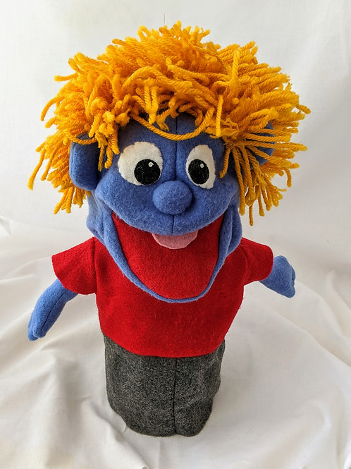 Boy Puppet with red shirt