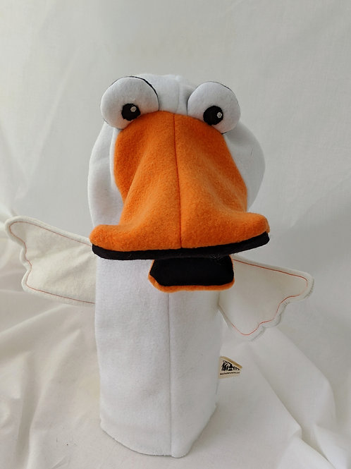 White Duck Puppet