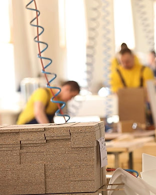 furniture-factory-workers-yellow-overall