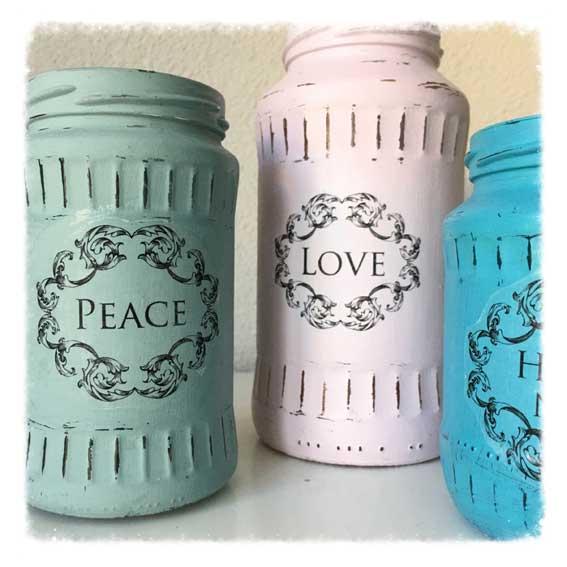 Altglas in Vasen verwandeln!