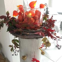 Herbstdekoration