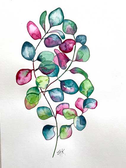Eukalytus nass in nass
