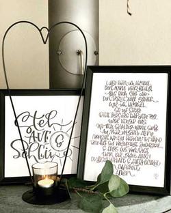 Lettering Unikate