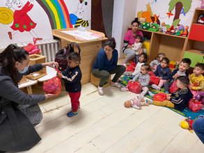We visited preschool and schoolchildren in Hungary