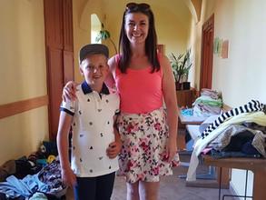 Transylvanian children received donations