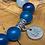 Thumbnail: Achat blue 8mm
