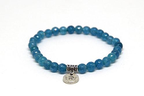 Jade blue 6mm