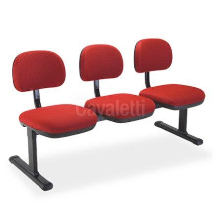 Cadeira Cavaletti Stilo - Longarina Secretária 8109