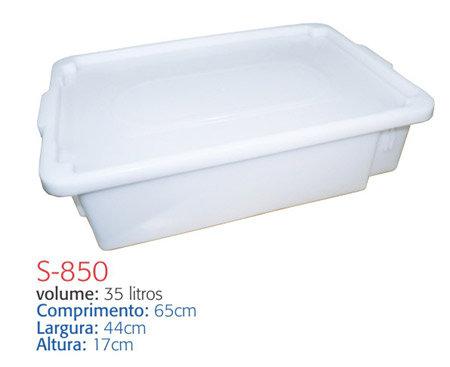 Caixa Plástica S-850 - 35 L - Supercron