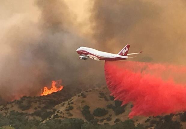 Global Supertanker is a Boeing 747-400 named the 'Spirit of John Muir' (a naturalist, author, environmental philosopher, and pioneering advocate for the preservation of wilderness in the USA).
