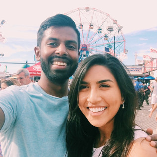 Being tourists in Coney Island