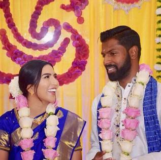 Nichayathartham - Tamil engagement ceremony