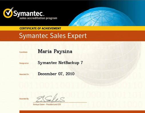 Symantec Netbackup 7