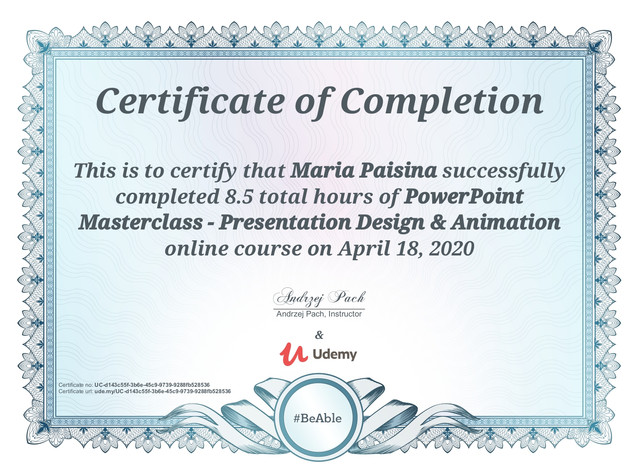 PowerPoint Masterclass - Presentation Design & Animation