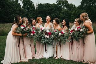 Anna & Her Bridemaids