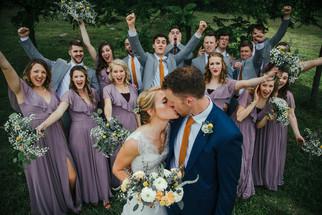 Owens Bridal Party Celebrates