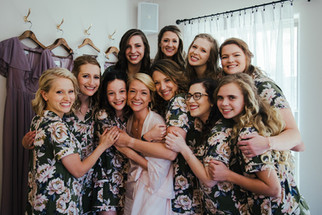 Elana and Her Bridal Party