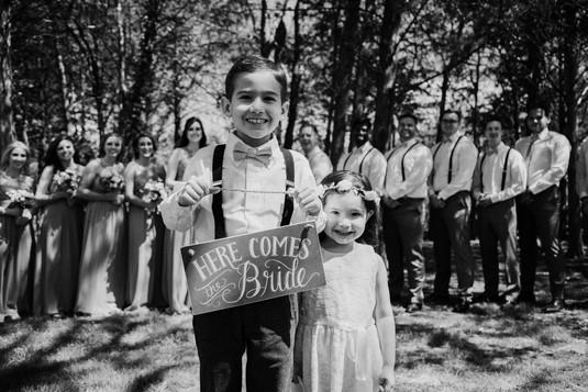 Sarah & Kyle Wedding ceremony and recept